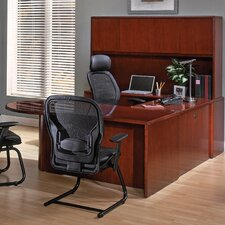 Sonoma Left U-Shape P-Top Desk Office Suite