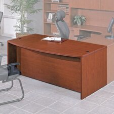 <strong>OSP Furniture</strong> Napa Bow Front Desk