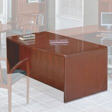 Sonoma Bow Front Desk Shell