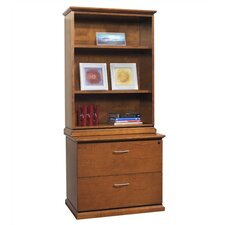 "<strong>OSP Furniture</strong> Mendocino 49"" H x 36"" W Desk Hutch"