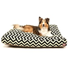 Zig Zag Rectangle Pet Bed