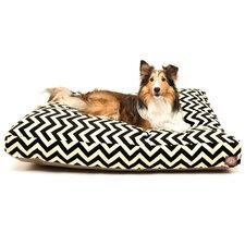 Zig Zag Rectangular Pet Bed