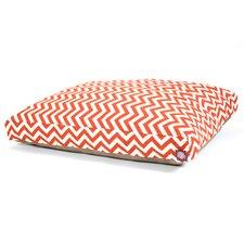 Zig Zag Rectangle Dog Pillow