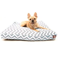 Zig Zag Rectangle Dog Bed