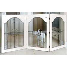 <strong>Majestic Pet Products</strong> Universal Free-Standing Pet Gate