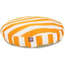 Vertical Stripe Round Pet Bed