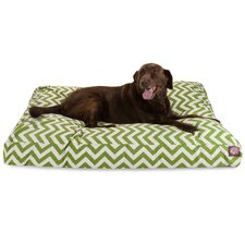 Zig Zag Rectangle Pet Bed
