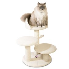 "27"" Bungalow Sherpa Cat Tree"