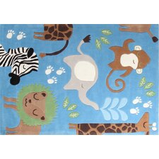 Children's Jungle Rug