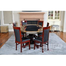 Premier 8 Piece Dining Table Set with Premium Chairs