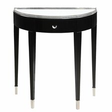 <strong>Bailey Street</strong> Tuxedo Demilune Console Table