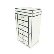 Coco 6 Drawer Large Jewellery Box
