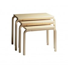 <strong>Artek</strong> 3 Piece Nesting Tables