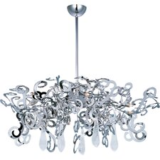 Tempest 9 Light Crystal Chandelier