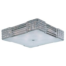Manhattan 8 Light Flush Mount