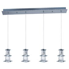 Flask 4 Light Kitchen Island Pendant
