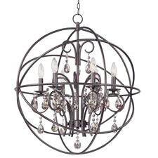 Orbit 6 Light Chandelier
