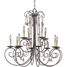 Adriana 12 Light Candle Chandelier