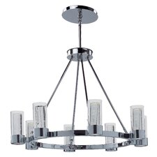 Sync 8 Light Chandelier