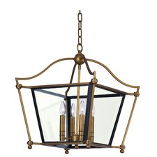 Ritz 4 Light Foyer Pendant