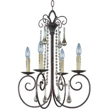 Adriana 4 Light Candle Chandelier