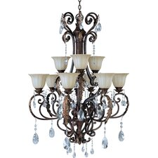 Augusta 9 Light Crystal Chandelier