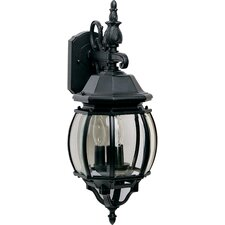 Crown Hill 3 Light Outdoor Wall Lantern