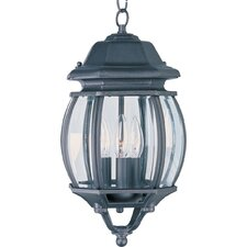 Crown Hill 3 Light Outdoor Hanging Lantern