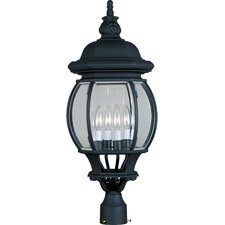 Crown Hill 4 Light Outdoor Post Lantern