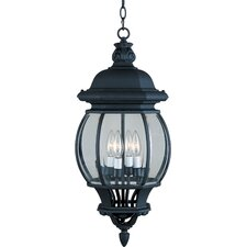 Crown Hill 4 Light Outdoor Hanging Lantern