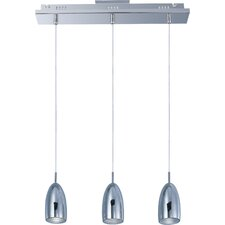 Bullet 3 Light Kitchen Island Pendant