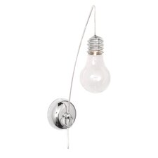 Edison 1 Light Armed Sconces