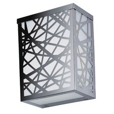 Inca LED Medium Outdoor Wall Sconce