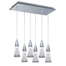 FunL 6 Light Kitchen Island Pendant