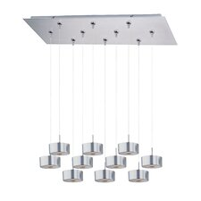 Percussion 10 Light RapidJack Kitchen Island Pendant