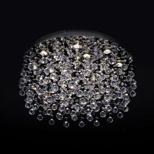 Cascada 18 Light Crystal Flush Mount