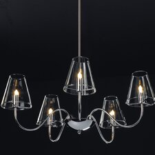 <strong>ET2</strong> Chic 5 Light Chandelier