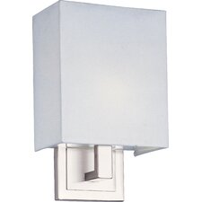 Edinburgh I 1 Light Wall Sconce with Linen Shade