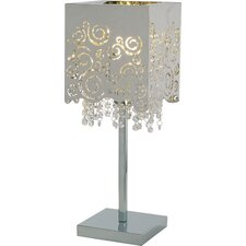 "Fiori 20.75"" H Table Lamp with Square Shade"