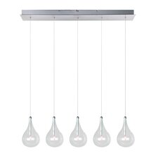 Sklo 5 - Light Linear Pendant