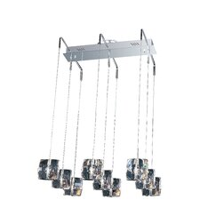 Neo 9 Light Kitchen Island Pendant