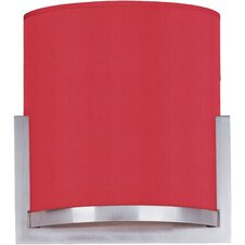 Elements Tempered Glass Wall Sconce