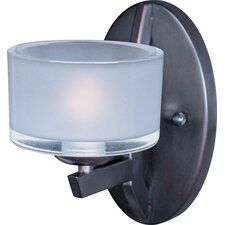 Vortex 1 Light Wall Sconce with Shade