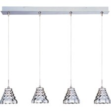 Minx 4 Light RapidJack Linear Pendant