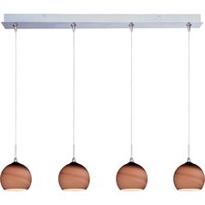 Minx 4 Light RapidJack Linear Pendant