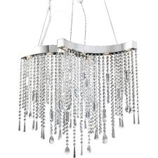 <strong>ET2</strong> Crystal Sensation 8 Light Pendant