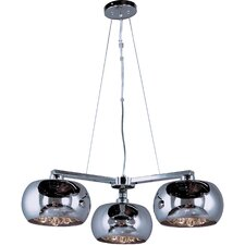 Satie 3 - Light Multi - Light Pendant