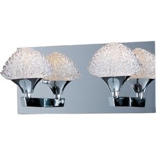 <strong>ET2</strong> Blossom 2 Light Bathroom Vanity Light