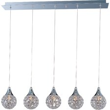 <strong>ET2</strong> Brilliant 5 Light Pendant