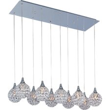 Vibrato 10 - Light Linear Pendant